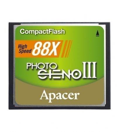 Image 1 of Apacer Compact Flash 2gb 88x Steno Iii