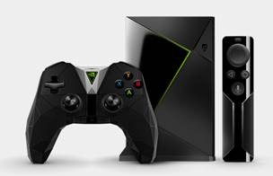 Image 1 of Nvidia Shield Tv With Controller 945-12897-2506-000 945-12897-2506-000