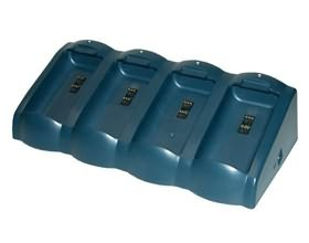 Image 1 of Datalogic Kyman Battery Charger, Four Slot Requires Power Supply 94acc4595 And Power Cord Tpa000097 94A151102