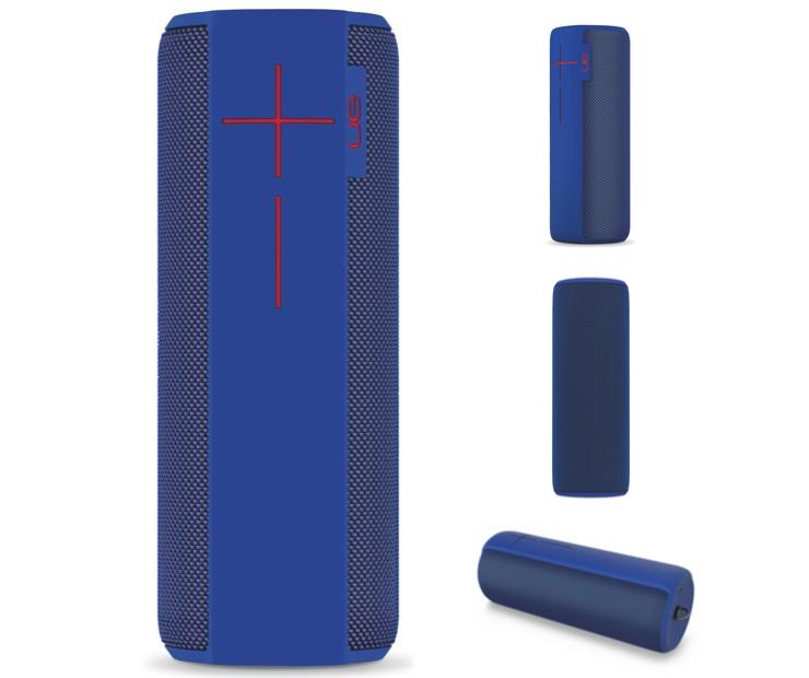Image 1 of Logitech Speakers: Ue Megaboom Portable Bluetooth Wireless Waterproof - Blue 984-000483# 984-000483#