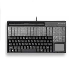 Image 1 of Cherry Spos Qwerty Keyboard With Touchpad And 3 Track Magnetic Strip Reader. Ip 54 Spill Resistant G86-61411EUADAA