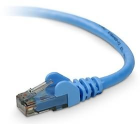 Image 1 of Belkin 15m Blu Cat6 Snagless Patch Cbl A3l980b15m-blus A3L980B15M-BLUS