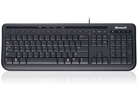 Image 1 of Microsoft Ms Wired Keyboard 600 Usb Port Eng Intl Row Hardware Black Anb-00025 ANB-00025