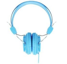 Image 1 of Laser Ao-headk-bl Headphones Stereo Kids Friendly Colourful Blue AO-HEADK-BL