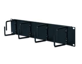 Image 1 of Apc 2u Horizontal Cable Organizer Black 2u Horizontal Cable Organizer Black Ar8426a AR8426A