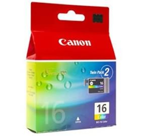 Image 1 of Canon Bci16c Colour Ink Tank Twin Pack Bci16c BCI16C