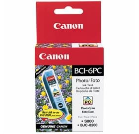 Image 1 of Canon Bci6pc Photo Cyan Ink Tank Suitable For I905d I950 I965 I9100 S800 S820 S820d S830d S900 BCI6PC