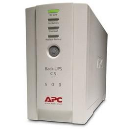 Image 1 of Apc Back-ups Cs 500va Usb Support 500va/ 300 Watts Capacity, Usb Compatible, BK500EI