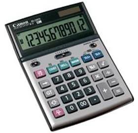 Image 1 of Canon Bs1200ts Calculator Bs1200ts BS1200TS