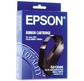 Image 1 of Epson S015066 Black Ribbon - Dlq-3000 3000+ 3500+ Life: 6 Million Characters C13s015066 C13S015066