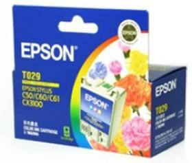 Image 1 of Epson T029 Ink Cartridge Colour 300 Pages C13t029091 C13T029091