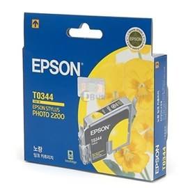 Image 1 of Epson T0344 Yellow Ink Cartridge - Stylus Photo 2100 C13t034490 C13T034490