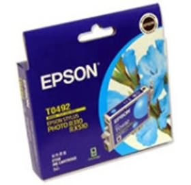 Image 1 of Epson T0492 Ink Cartridge Cyan 430 Pages C13t049290 C13T049290