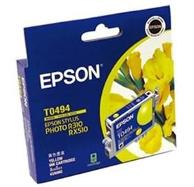 Image 1 of Epson T0494 Ink Cartridge Yellow 430 Pages C13t049490 C13T049490
