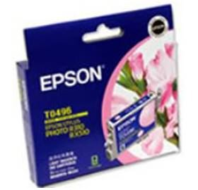 Image 1 of Epson T0496 Ink Cartridge Light Magenta 430 Pa C13t049690 C13T049690
