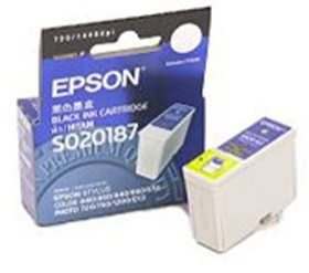 Image 1 of Epson T050 Ink Cartridge Black 370 Pages C13t050190 C13T050190
