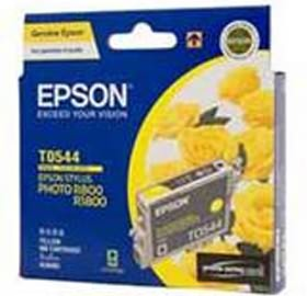 Image 1 of Epson T0544 Ink Cartridge Yellow 440 Pages C13t054490 C13T054490