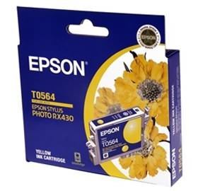 Image 1 of EPSON T0564 Ink Cartridge Yellow 290 Pages C13T056490 C13T056490