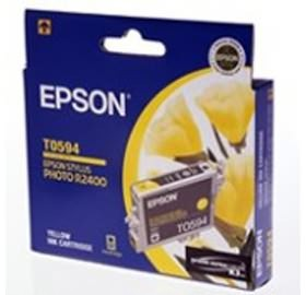 Image 1 of Epson T05949 Yellow Ink Cartridge - R2400 C13t059490 C13T059490