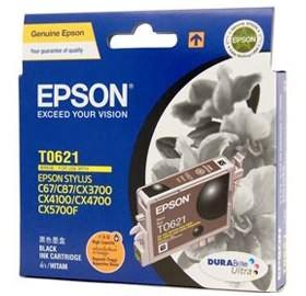 Image 1 of Epson T0621 Ink Cartridge Black C13t062190 C13T062190