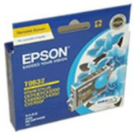Image 1 of Epson T0632 Ink Cartridge Cyan C13t063290 C13T063290