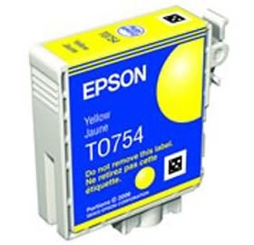 Image 1 of Epson T0754 C59 Ink Cartridge Yellow C13t075490 C13T075490