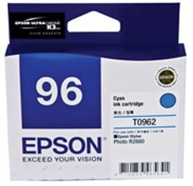 Image 1 of Epson T0962 Cyan Ink Cartridge - R2880 C13t096290 C13T096290