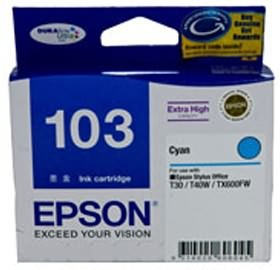 Image 1 of Epson T103292 Extra High Capacity Cyan Ink For T40w, Tx600fw, T30 C13T103292
