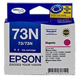 Image 1 of Epson 73n Std Cap Durabrite Ink Cart Magenta C13t105392 C13T105392