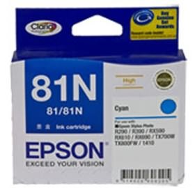 Image 1 of Epson 81n High Capacity Claria Ink Cart Cyan C13t111292 C13T111292