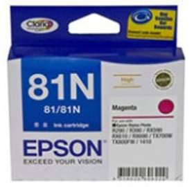 Image 1 of Epson 81n High Capacity Claria Ink Cart Mgnta C13t111392 C13T111392