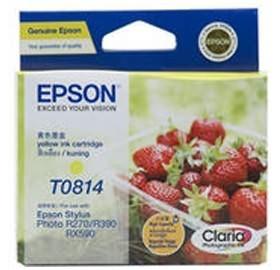 Image 1 of Epson 81n Yellow Ink Cartridgetx700w 800fw Rx610 R290 Photo 1410 C13t111492 C13T111492