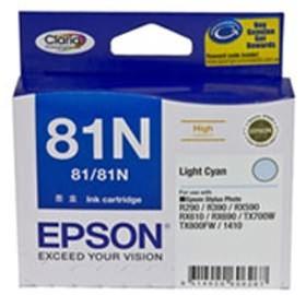 Image 1 of Epson 81n High Cap Claria Ink Cart Light Cyan C13t111592 C13T111592