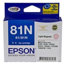 Image 1 of Epson 81n High Cap Claria Ink Cart Light Mgnta C13t111692 C13T111692