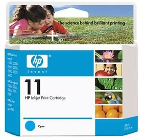 Image 1 of Hp No 11 Cyan Ink Cartridge C4836a C4836A