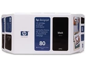 Image 1 of Hp No 80 Ink Cartridge 350 Ml Magenta C4847a C4847A