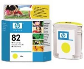 Image 1 of Hp No 82 Ink Cartridge Yellow C4913a C4913A