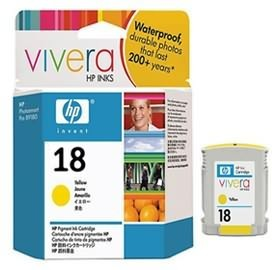 Image 1 of Hp C4939a Hp No 18 Yellow Ink Cartridge C4939A