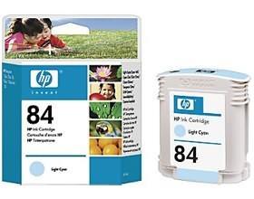 Image 1 of Hp No 84 Ink Cartridge Cyan C5017a C5017A