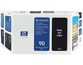 Image 1 of Hp No 90 Ink Cartridge 400 Ml Black C5058a  C5058A