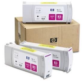 Image 1 of HP No 83 Magenta UV 3 Ink MuLTi Pk C5074A C5074A