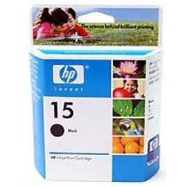 Image 1 of Hp C6615da Hp No.15 Black Inkjet Cartridge, For Deskjet 810c, 812c, 840c C6615DA