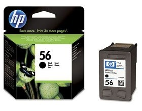 Image 1 of Hp C6656aa Hp No.56 Black Inkjet Cartridge C6656AA