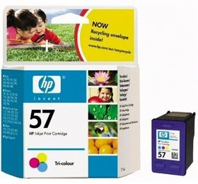 Image 1 of Hp 57 Ink Cartridge Tri-color C6657aa C6657AA