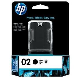 Image 1 of Hp 02 Ink Cartridge Black C8721wa C8721WA