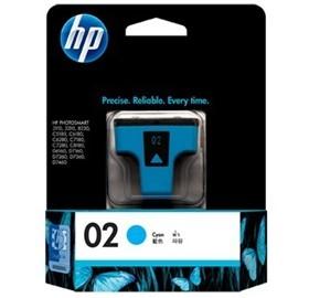 Image 1 of Hp 02 Ink Cartridge Cyan C8771wa C8771WA