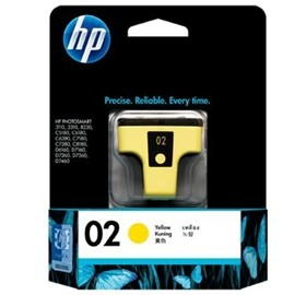 Image 1 of Hp 02 Ink Cartridge Yello C8773wa C8773WA