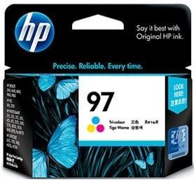 Image 1 of Hp 97 Ink Cartridge Tri-color C9363wa C9363WA