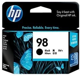 Image 1 of Hp 98 Ink Cartridge Black C9364wa C9364WA