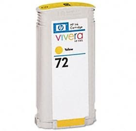 Image 1 of Hp No 72 Ink Cartridge 130ml Yellow C9373a C9373A